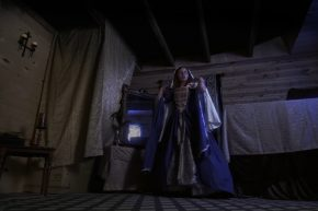 Lady in Medieval Chamber